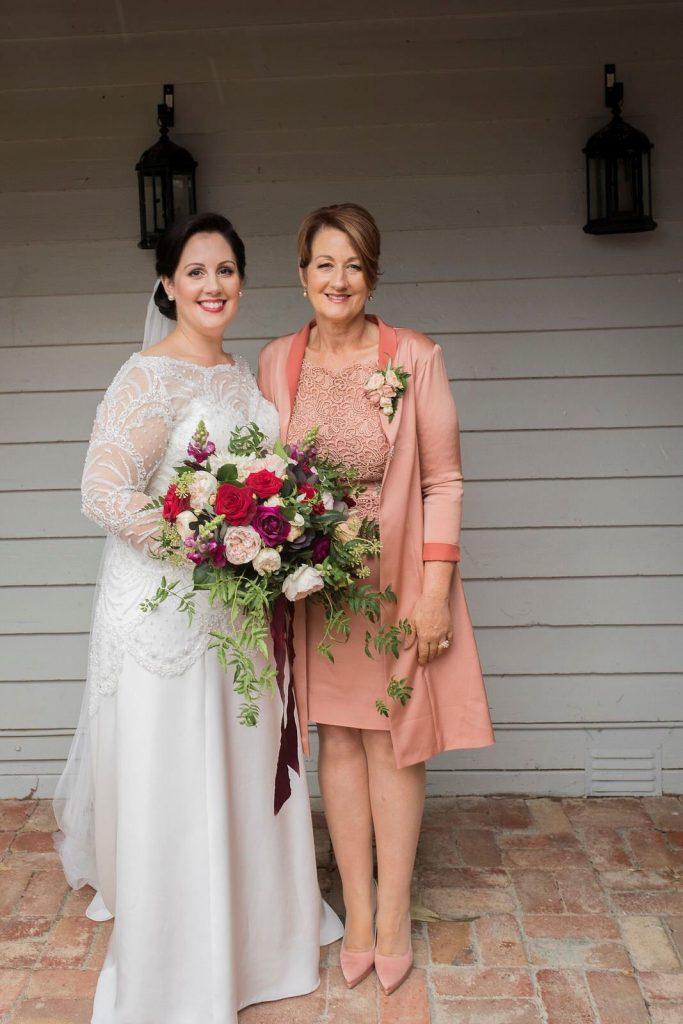 Bride Daniella and Mom