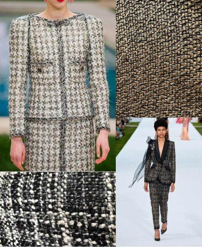 Chanel Spring 2019 Couture Collection and Ralph Lauren 2020 Collection