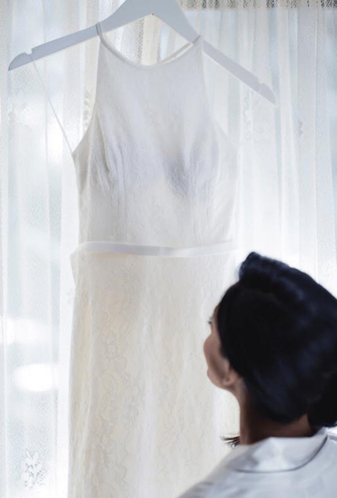 Gown: d'Italia / Photographer: Shevan J Photography